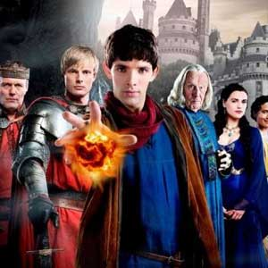 Merlin Cast Photo BBC One