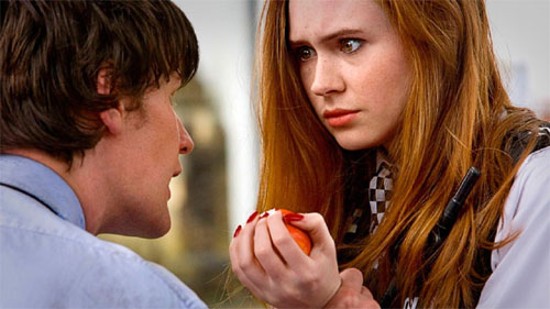 Doctor Who 11th Doctor & Amy Pond