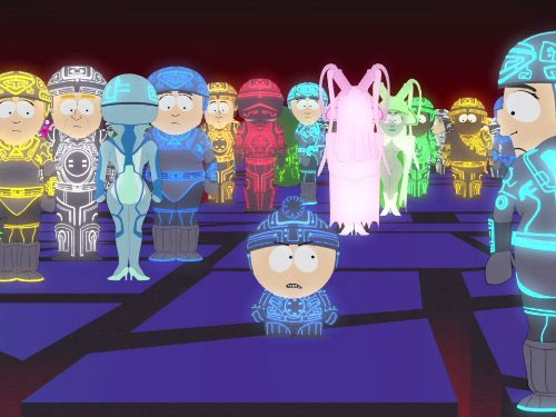 South Park Kip Drordy Tron Scene