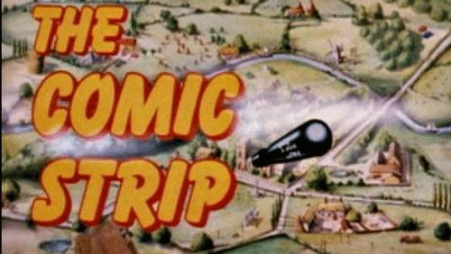 Comic Strip Presents Title Screen