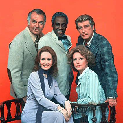 US TV Sitcom Soap Cast Photo