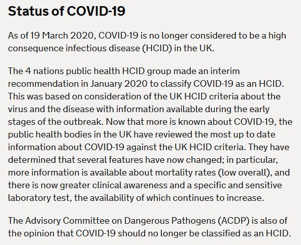 Covid-19 Lockdown Status