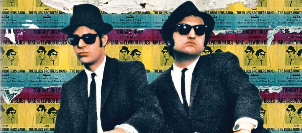 The Blues Brothers 4K UHD Cover Artwork