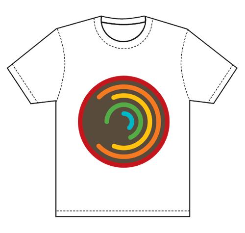Men's T-Shirt Circle 1 White